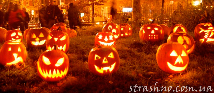 мистический праздник Хэллоуин