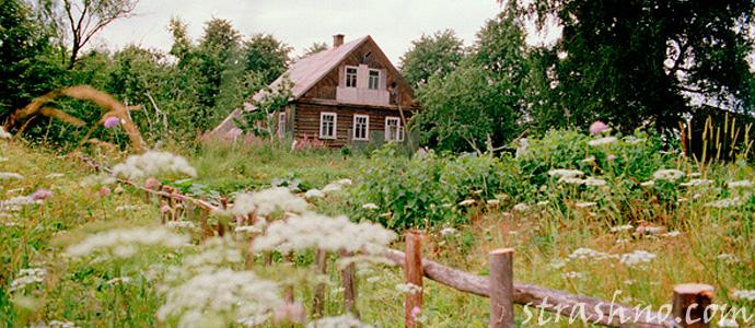 мистическая история о старом деревенском доме