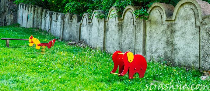 мистическая история о странных событиях на территории детского сада