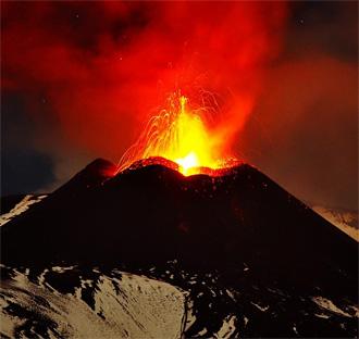 Фотоподборка извержений современных вулканов