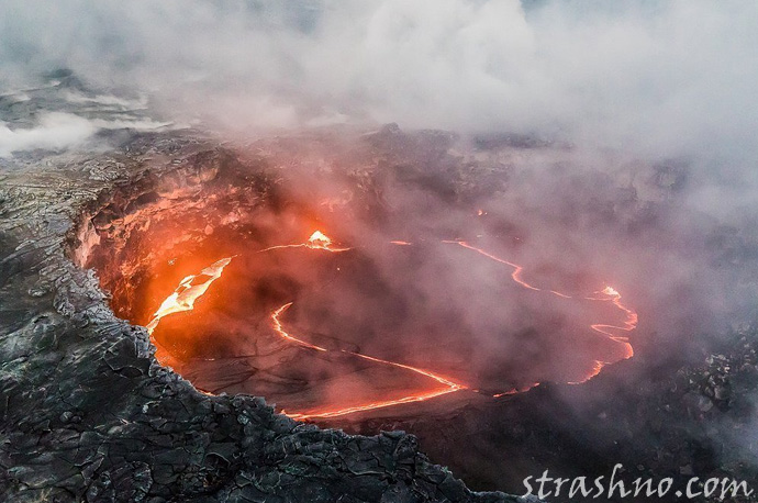 Килауэа извержение