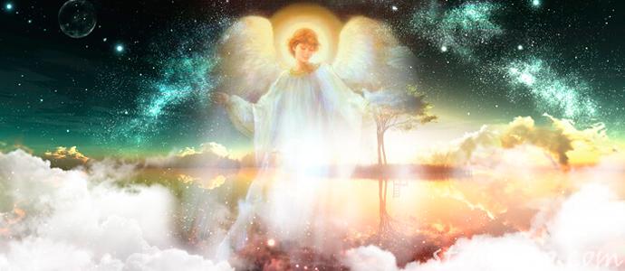 мистическая история о том, как женщина видела ангела