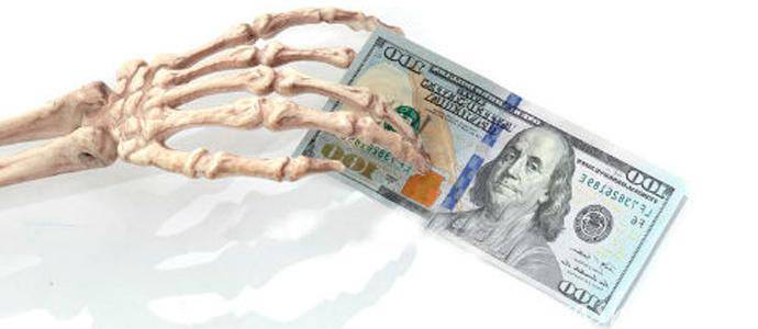 мистическая история о денежном долге покойнику