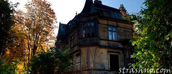 мистическая история о призраке бывшего хозяина дома