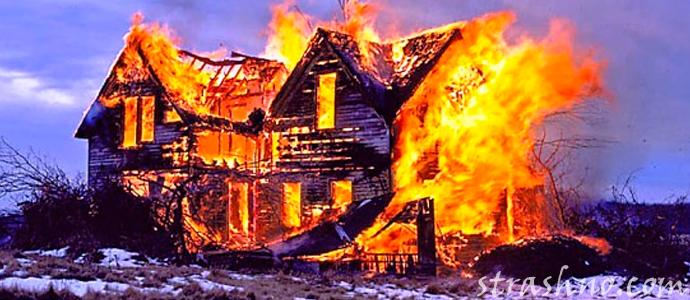 мистическая история о предсказанном пожаре