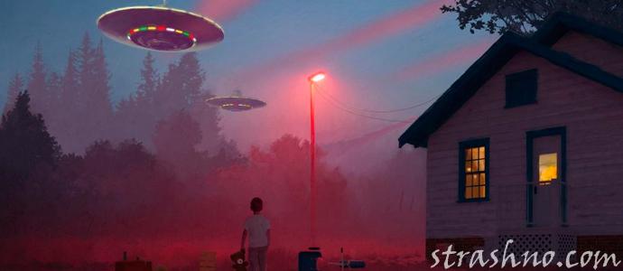 история о мистическом шаре в ночном небе