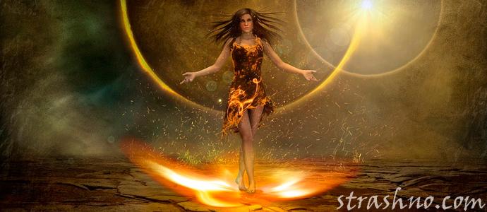мистическая история о колдовстве и наказании