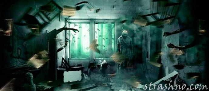 мистическая история о происходящем в квартире убитого