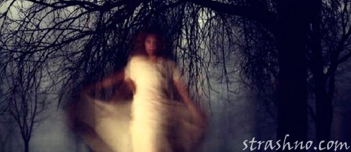 мистическая деревенская история о призраке