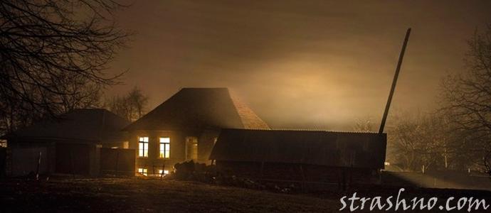мистическая история о ночном стуке в дом