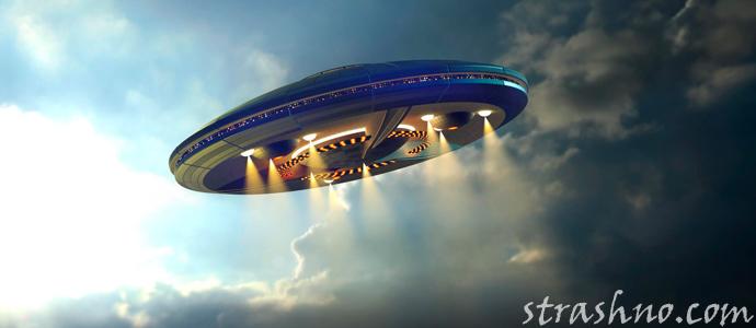 мистическая история об НЛО