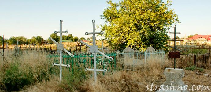 мистическая история о посещении кладбища