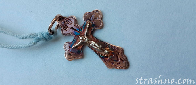 мистическая история о маленьком крестике и порче