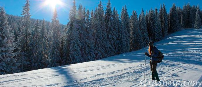 смешная история о езде на лыжах