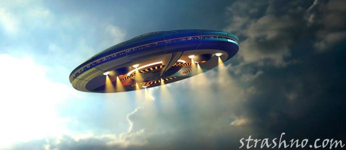 мистическая история о загадочном объекте в небе