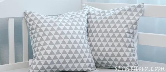 мистическая история о подкладе в подушках