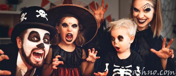 страшная история о переодетых зомби на Хэллоуин