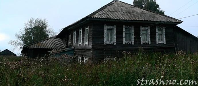 мистическая история о призраке в заброшенном доме