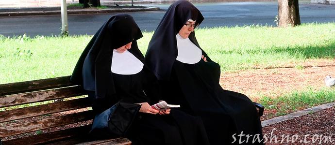 история о монахине