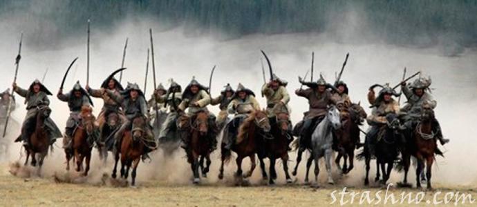 история о страшном нашествии монголо-татар