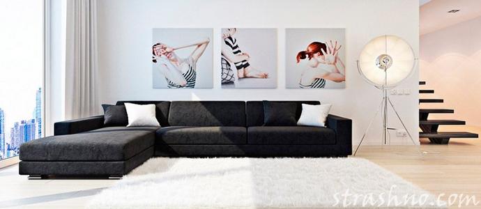 картина в доме