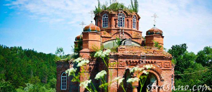 история о заброшенной церкви