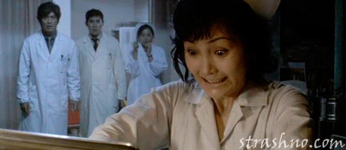 кадр из фильма ужасов Инфекция