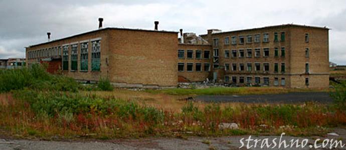 мистика на заброшенном здании