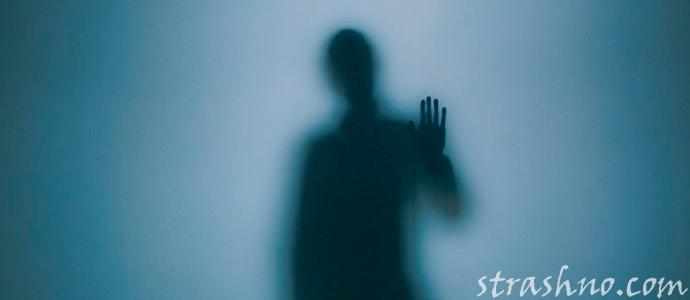 страшная тень в ночной комнате