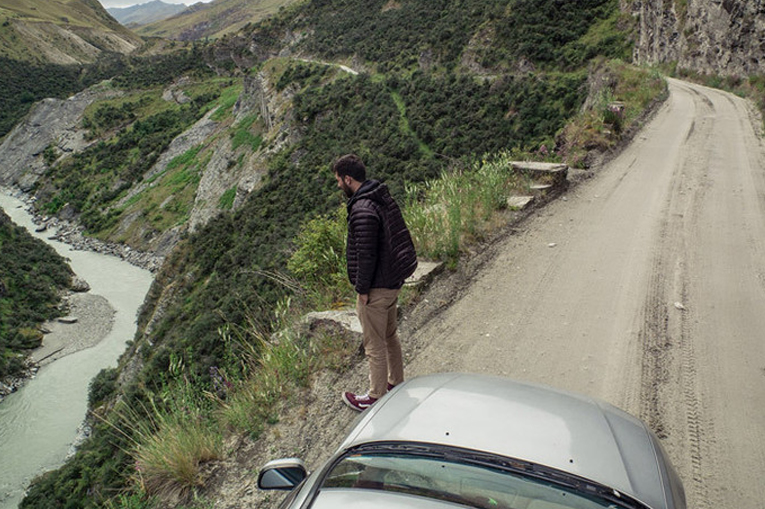 каньон в Новой Зеландии