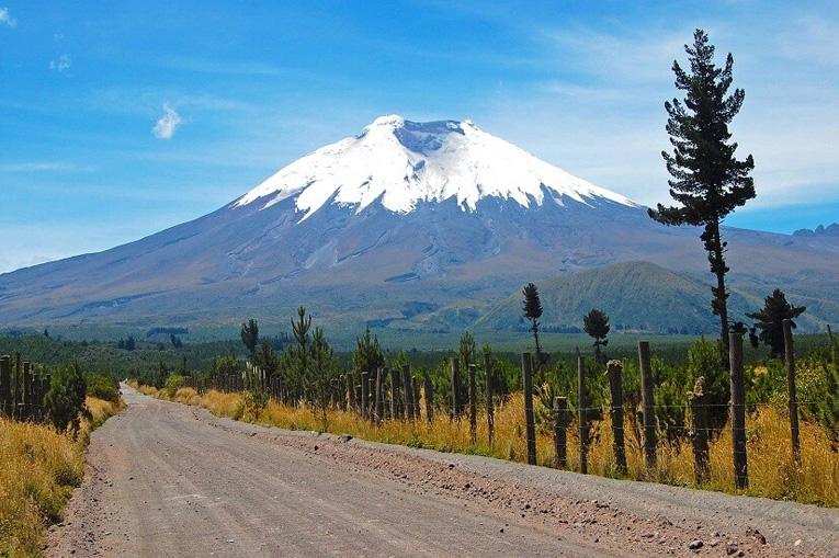 опасная дорога к вулкану
