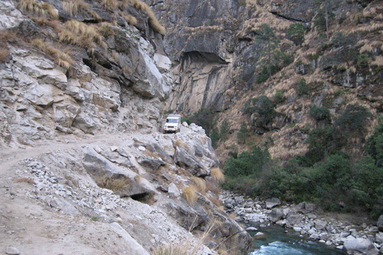 Гималайская дорога в Непале