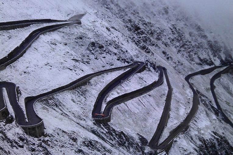 опасные зимние дороги