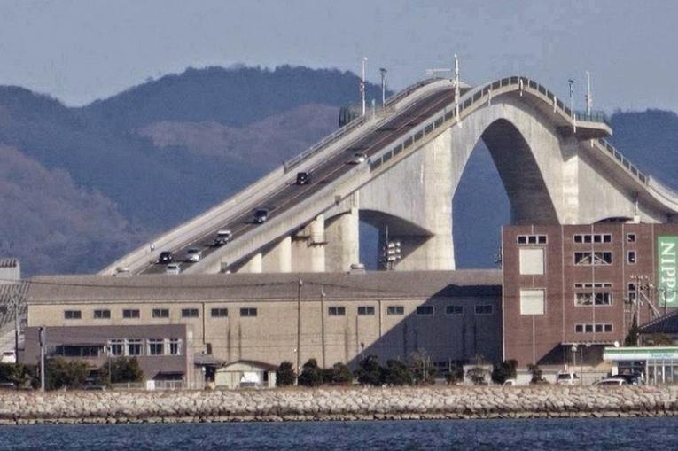 Мост Эшима Охаси Япония