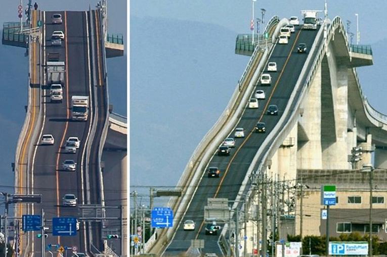 опасный мост в Японии