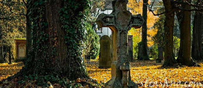 мистика на кладбище