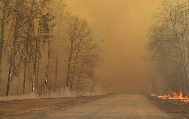 седьмой день апрельского пожара в ЧАЭС