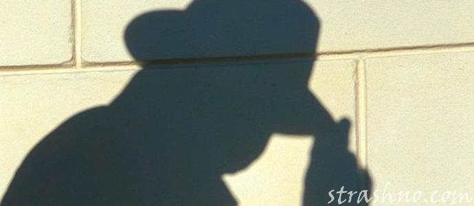 страшная тень в шляпе