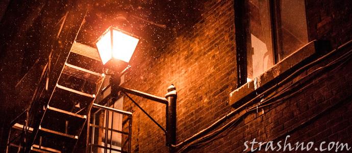 мистика на ночной лестнице