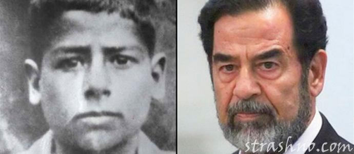 фото Саддама Хусейна