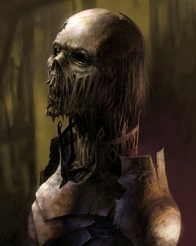 Нарисованное чудовище №3