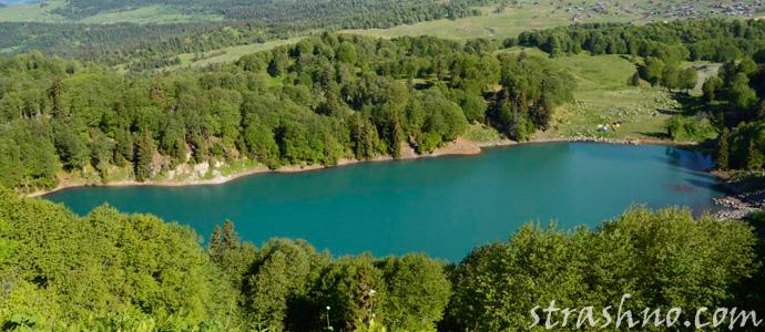 озеро с чертями