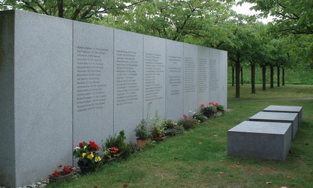 памятный знак в память о жертва крушения