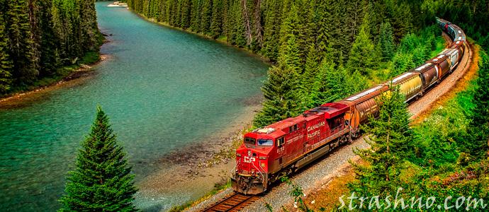 железная дорога Канады