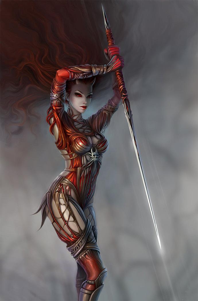 Демоническая воительница