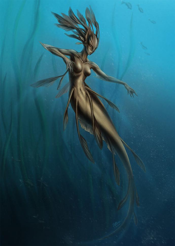 Фито-русалка