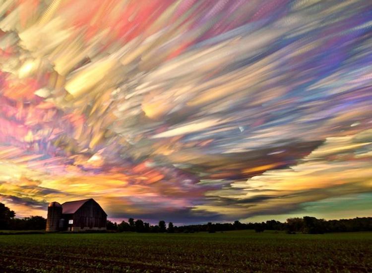очень красивое облако