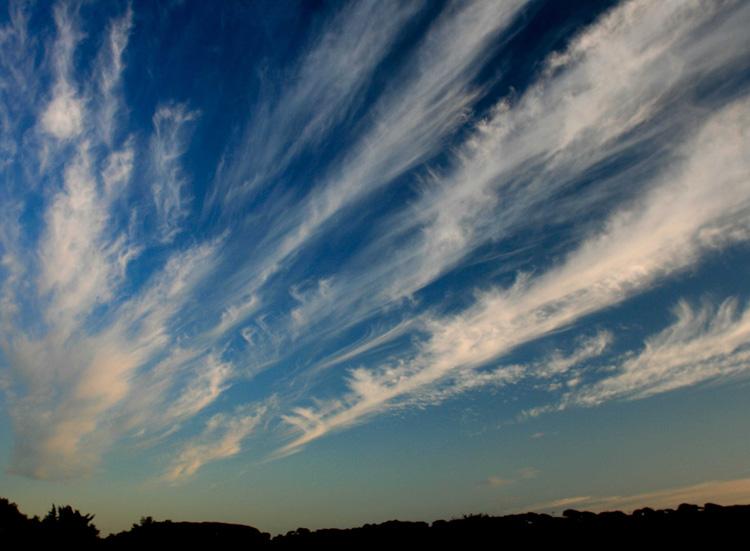 редкий вид облаков