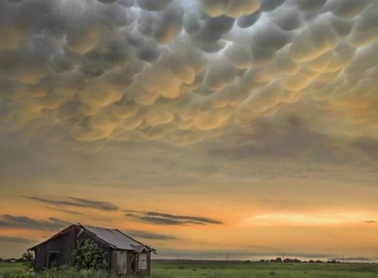 загадочные облака