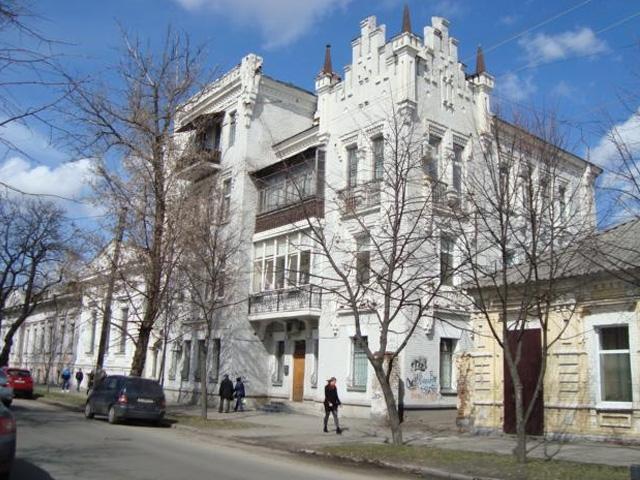 дом колдуна в Полтаве